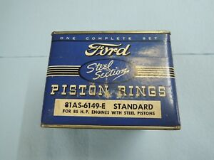 Nos Unopened Oem Ford Piston Ring Set 81as 6149 E 85 Hp Standard