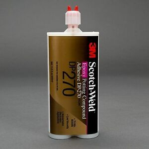 3m Scotch weld Epoxy Potting Compound Dp270 Clear 200 Ml 6 Per Case 6 Each
