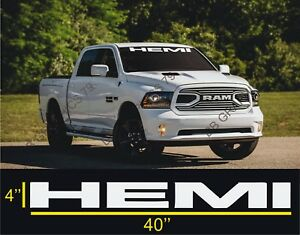 Dodge Ram Charger Windshield Decals Cars Stickers Banners