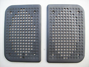 Porsche 944 944 Turbo Black Door Panel Speaker Grill Cover Plates