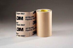 3m 8067 12 In X 75 Ft Weather Flashing Tape 12 In Tan Price Is For 4 Rolls