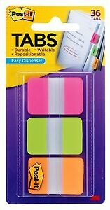 3m 686 pgo 1 In X 1 5 In Post it r Durable Tabs 686 pgo Price Is For 24 Pack