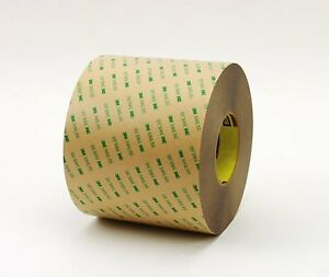 3m Adhesive Transfer Tape 9471le Clear 54 In X 60 Yd 2 Mil 1 Roll Per Case