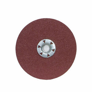 Norton 08834159146 Power Sander Fiber Backed Discs Size 7 x 58-11 SC 50 Grit