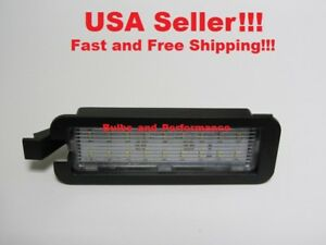 White Led License Plate Light Lamp Fits Dodge Challenger 2016 2017 2018 2019
