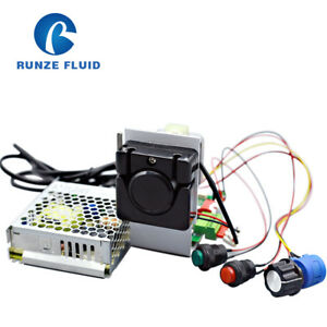 Easy Tubing Chemical Dosing Mini Peristaltic Pump For Medical Analysis Equipment