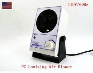 New 110v Pc Lonizing Air Blower Simco Ion Fan Anti static Ionic Fan Us Stock