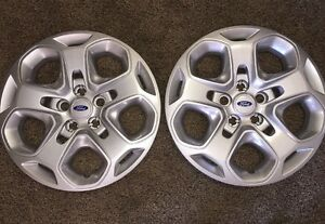 Pair Of 2 New 2010 2011 2012 Ford Fusion Hubcap Wheelcover Free Shipping 7052