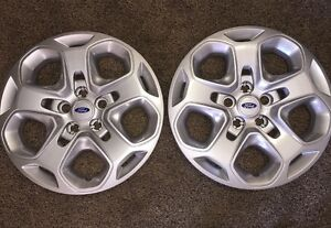 Pair Of 2 New 2010 2011 2012 Ford Fusion Hubcap Wheelcover 7052 17 Inch Bolt On