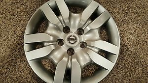 1 53078 New Hubcap Wheel Covers 2007 08 09 10 11 2012 16 Nissan Altima Bolt On