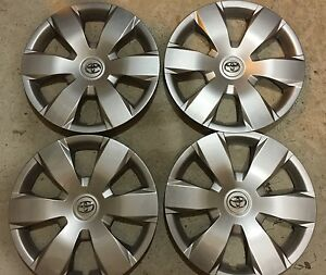 Set Of 4 61137 Toyota Camry Hubcaps Wheelcover 16 Inch 2007 08 09 10 11 12 New