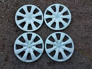 Set Of 4 New 2009 2010 2011 2012 2013 Corolla Hubcaps 15 Wheel Covers 61147