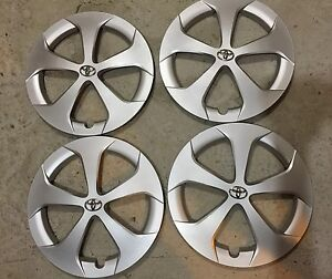 Set Of 4 61167 New Toyota Prius 15 Hubcaps Wheel Covers 2011 12 13 14 15