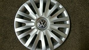 61560 Volkswagen Golf Hubcap 2010 2014 15 Inch Wheel Cover Free Shipping