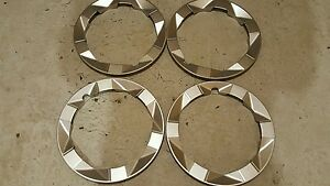 New Set Of 4 Toyota Prius Wheel Trim Ring 15 Beauty Outer Skins Free Ship