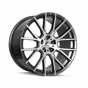 22 Inch Forgiato Flow 001 Wheels Dodge Charger Challenger Jeep Mustang