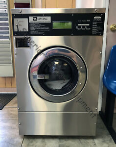 Maytag Mfr18pd Washer extractor 18lb Coin 120v 1ph