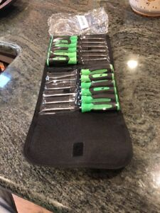 New Snap On Sgmini12ag 12 Pc Mini Pic Screwdriver And Torx Set
