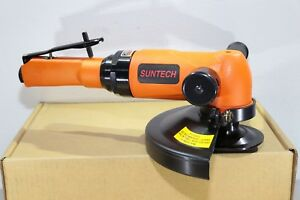 Suntech 2 2 Hp Governed Heavy Industrial Pneumatic Air 7 Angle Grinder 5 8 11