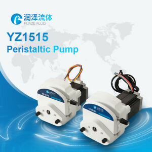 Easy Operation Speed Control Yz25 Chlorine Peristaltic Dosing Pump High Volume