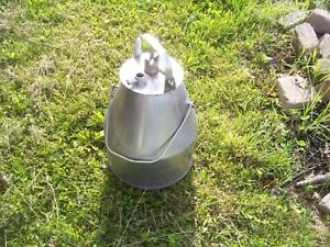 Stainless Steel De Laval Milking Bucket Can Pail Bucket Cows Goats Farm