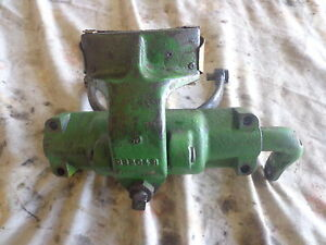 John Deere 50 Clutch Fork And Pulley Brake Assembly B3263r Antique Tractor