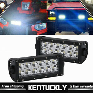 A Pair High Power Led Lights For Ford New Holland Tractor Harvesters 12v 24v 72w
