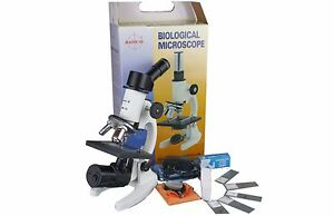 40 1000x High Power Student Compound Biology School Lab Led Cordless Microscope