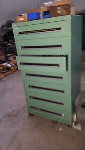 Stanley Vidmar Cabinet 7 Drawer With Tooling Good Stuff Key For Cabinet