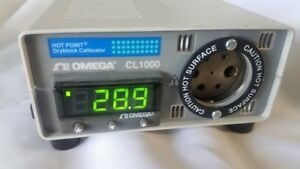 Hot Point Dry Block Calibrator Omega Cl1000