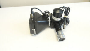 Vintage Wild Heerbrugg Microscope Attachment Camera
