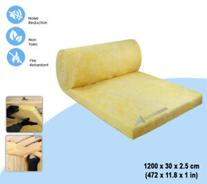 Arrowzoom 12 Meter Mineral Wool Loft Thermal Sound Insulation Acoustic Roll
