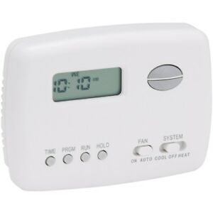 White Rodgers 1e78 151 Digital 5 heat 2 cool Programmable Vertical Thermostat
