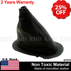 Leather Transfer Case 4x4 Shifter Shift Boot For 1984 1993 Dodge W150 W250 W350
