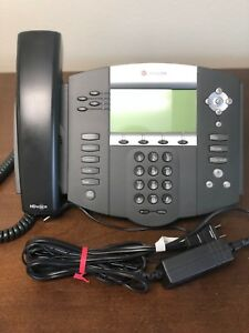 Polycom Soundpoint Ip 550 Phones W power Supply lots Of 3 25 00 Each