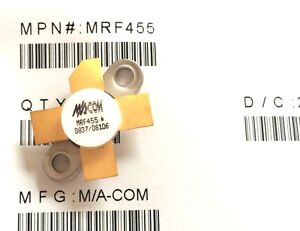 2 Pieces Mrf455 Rf Npn Power Transistor