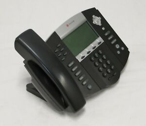 Lot Of 10 Polycom Soundpoint Ip 650 Sip Desktop Phone Poe