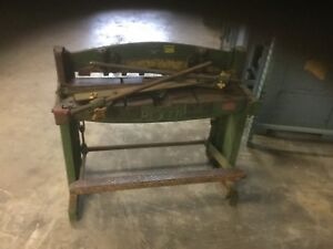 Used Pexto 3 Stomp foot Shear