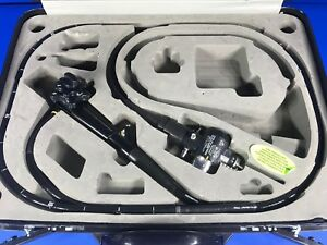 Olympus Pcf 140l Pediatric Video Colonoscope Serial Number 2600077