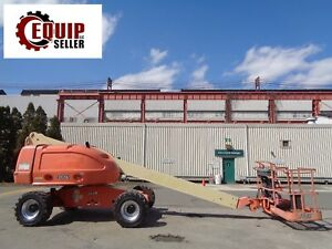 Jlg 400s 4x4 Boom Man Aerial Scissor Telescopic Lift 40ft Height