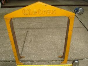 Cletrac Crawler Dozer Oliver Loader Vintage Rad sales Collectable Parts Heavy