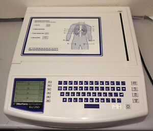 Mortara Eli 250 Ekg ecg Machine W interpretation New Year Clearance