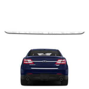 Stainless Lower Trunk Trim Fits 2010 2018 Ford Taurus By Brighter Design
