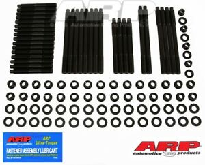 Genuine Arp 134 4307 Sbc Brodix 12 18deg Head Studs 3 8 Center Bolt Holes