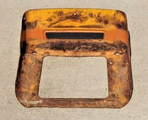 Case 580 Ck Tractor Seat Bare Metal Base Only