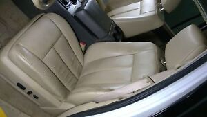 09 14 Ford Expedition Left Front Driver Leather Seat