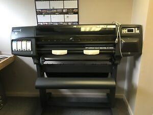 Hp Designjet 1050c Plus Large Format Inkjet Printer Used Local Pickup Only