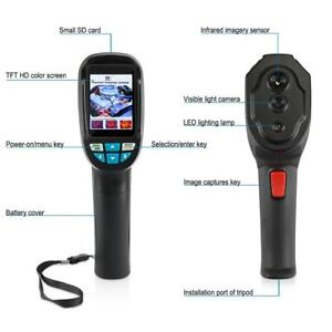 Ht 04 Handheld Thermal Imaging Camera Infrared Thermometer 2 4 Gun 20 To 300