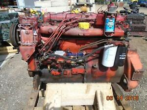 International D436 Engine Complete Running B Esn 436dt2u051690 Bcn 675500c3