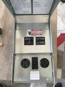 Eaton Power Outlet Panel Box Electrical Distribution